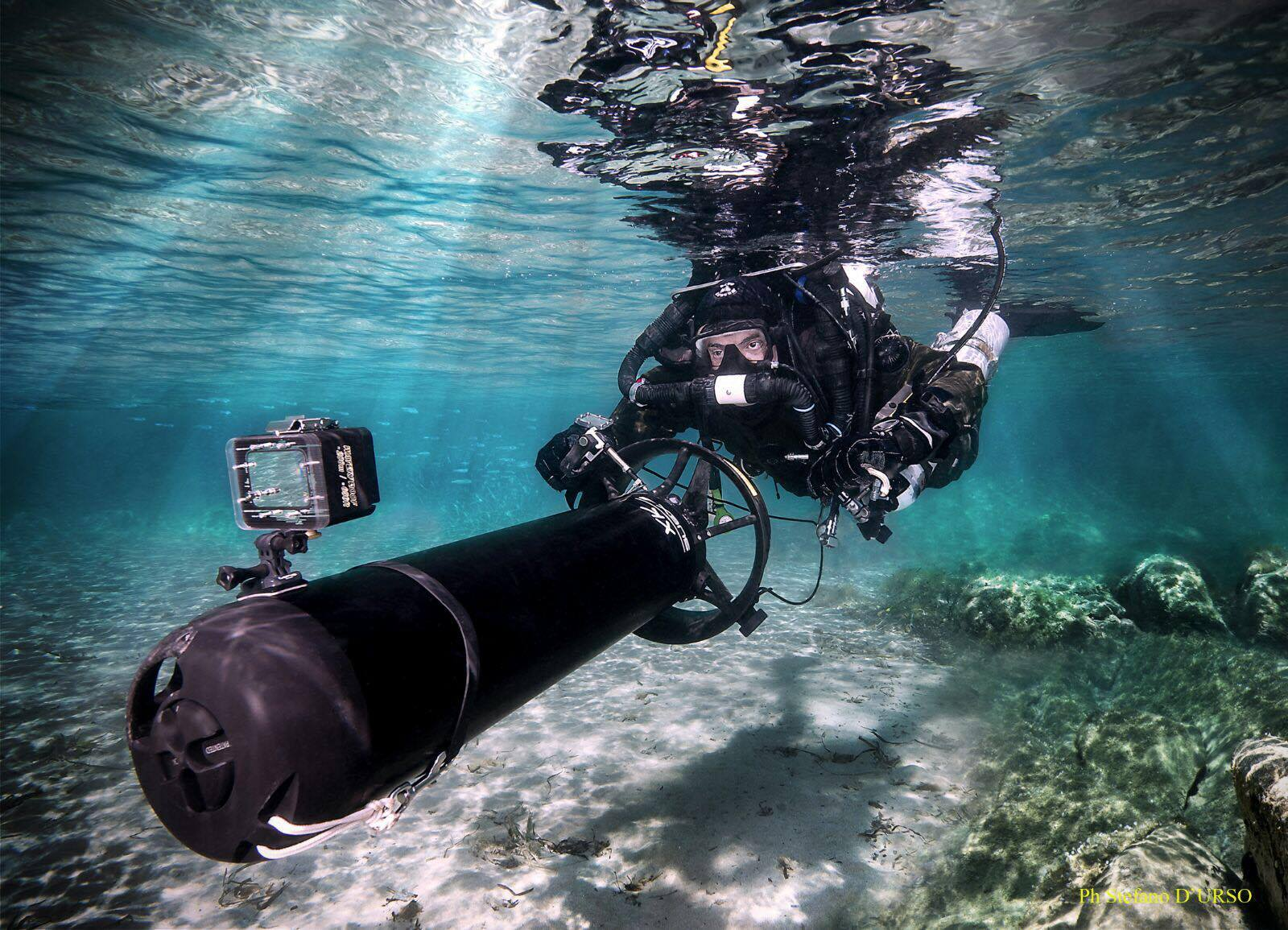 WRECK & CAVE DIVING IN ITALY