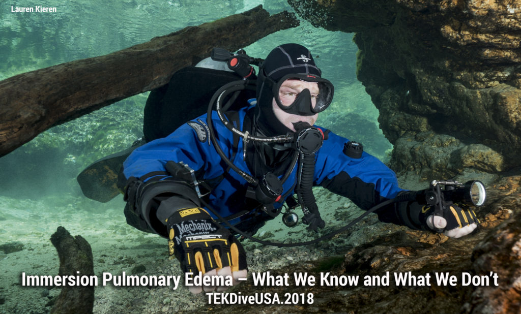 Immersion Pulmonary Edema – What We Know and What We Don't